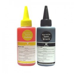 Inkousty pro EPSON 2x100ml, Yellow, Black